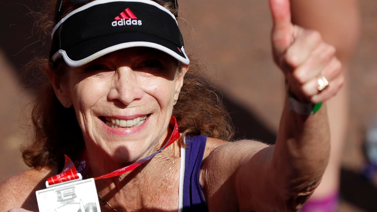 Boston marathon trailblazer Kathrine Switzer talks of her new push