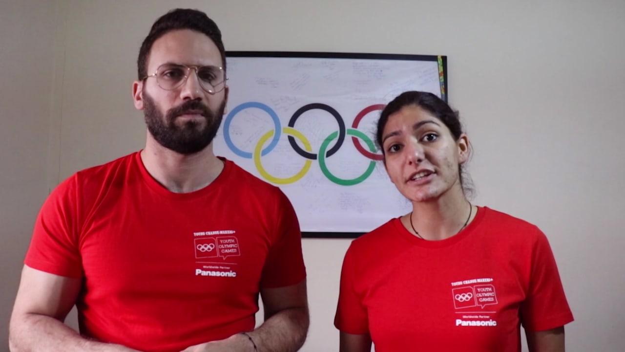 Christel Saneh and Tony Tarraff - Lebanon