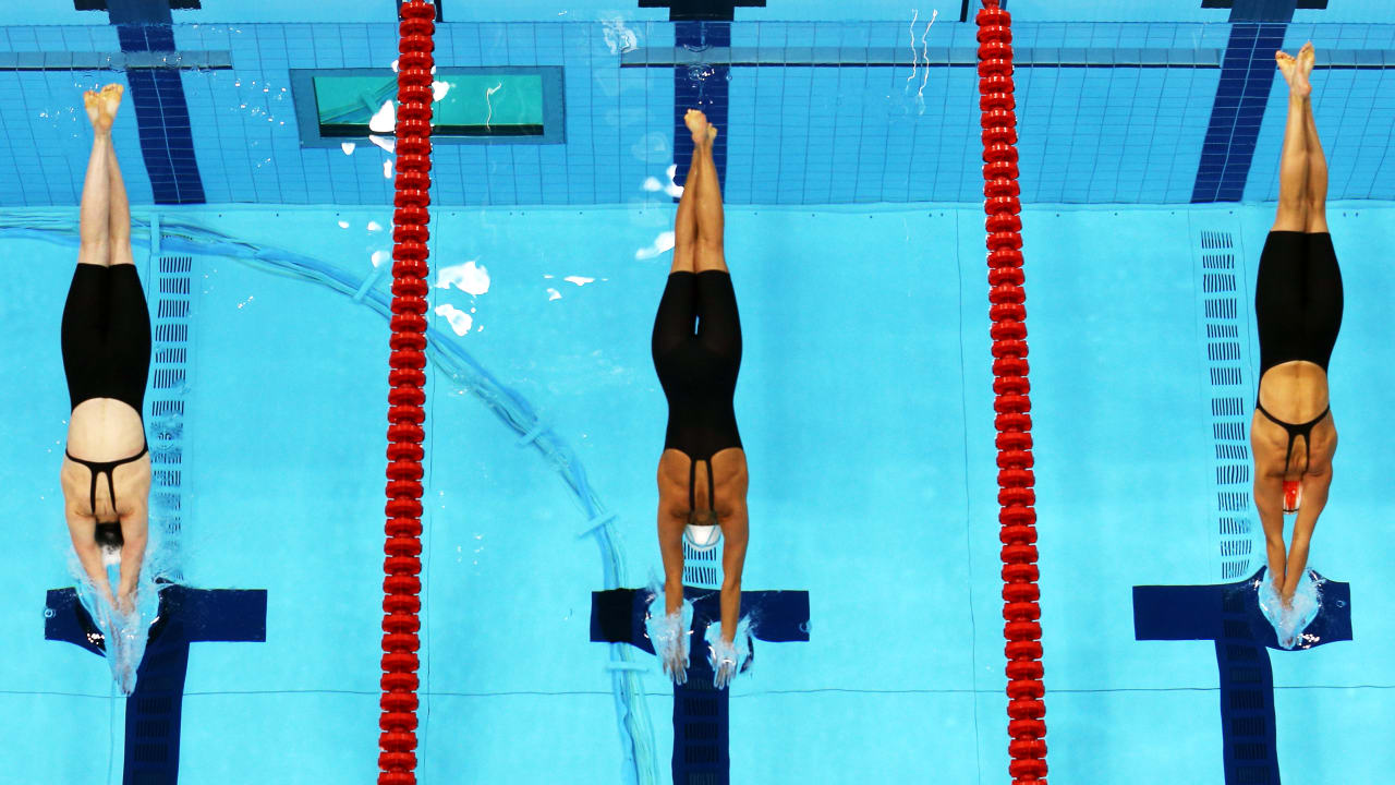 The beauty of Women's Swimming