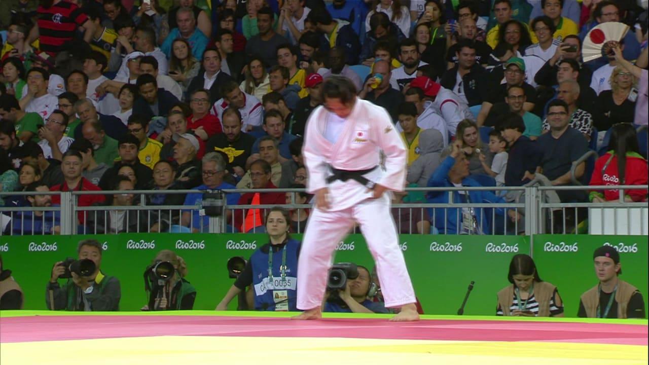 柔道:リオ2016女子70kg級決勝