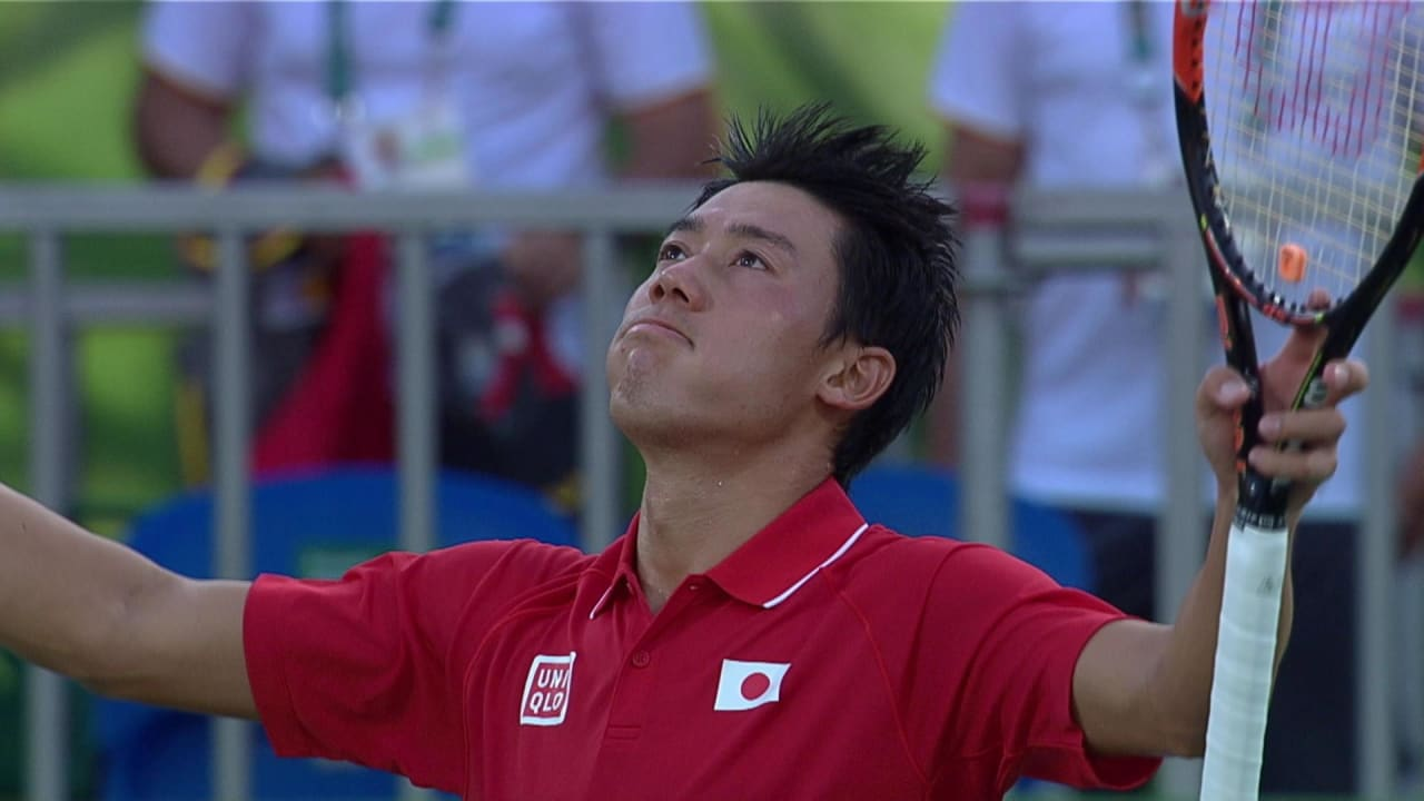 ナダル vs 錦織、テニス男子シングルス3位決定戦 | リオ2016リプレイ