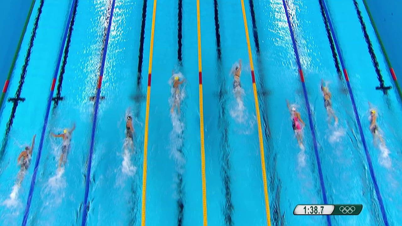 Women's 200m Freestyle Final | Rio 2016 Replays