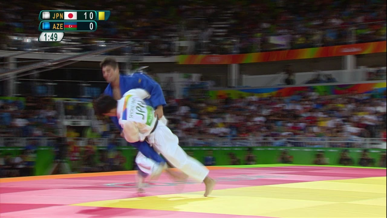 Ippon and gold for Ono in Men's Judo -73kg