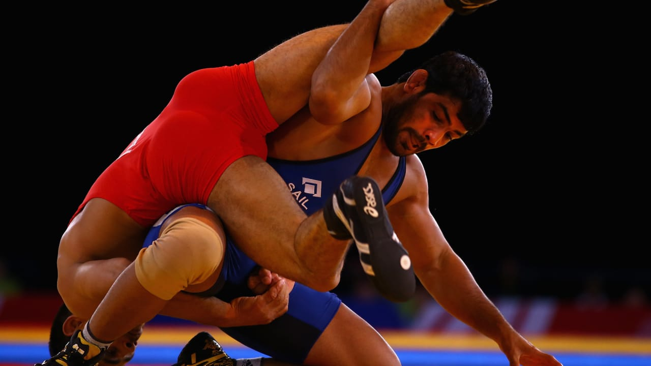 Sushil Kumar makes a comeback
