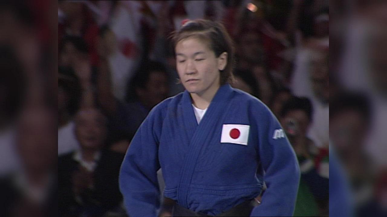 柔道:シドニー2000女子48kg級決勝
