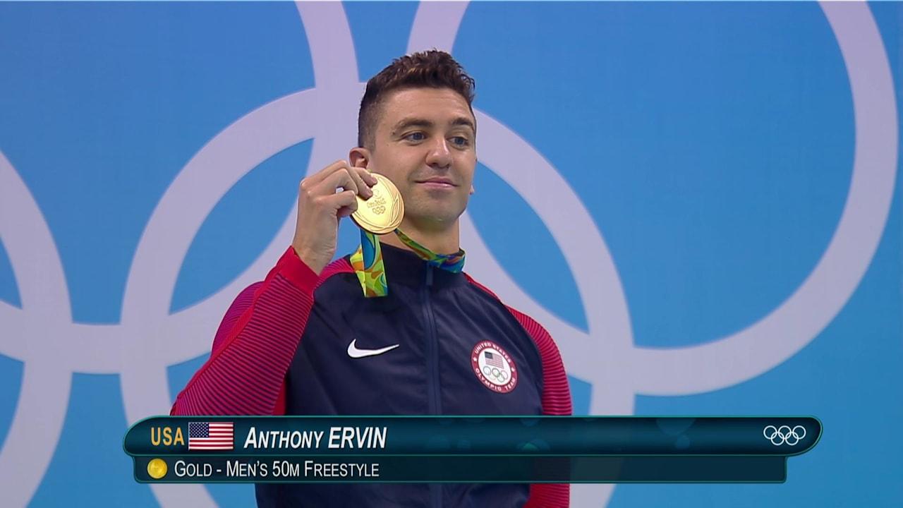 Men's 50m Freestyle Final | Rio 2016 Replays