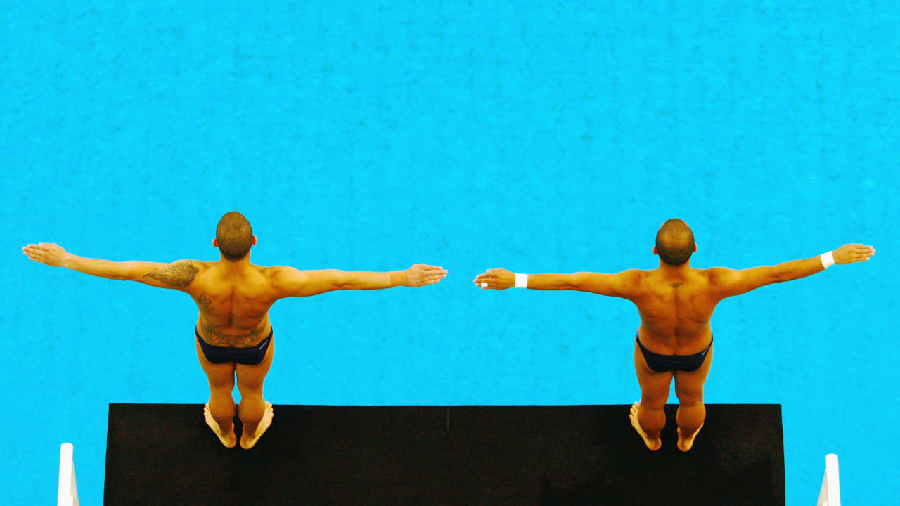 The beauty of Platform Diving