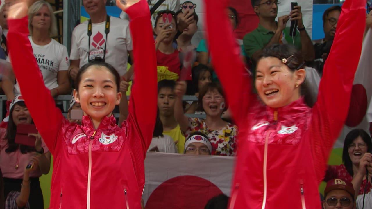 バドミントン:女子ダブルス決勝 | リオ2016リプレイ