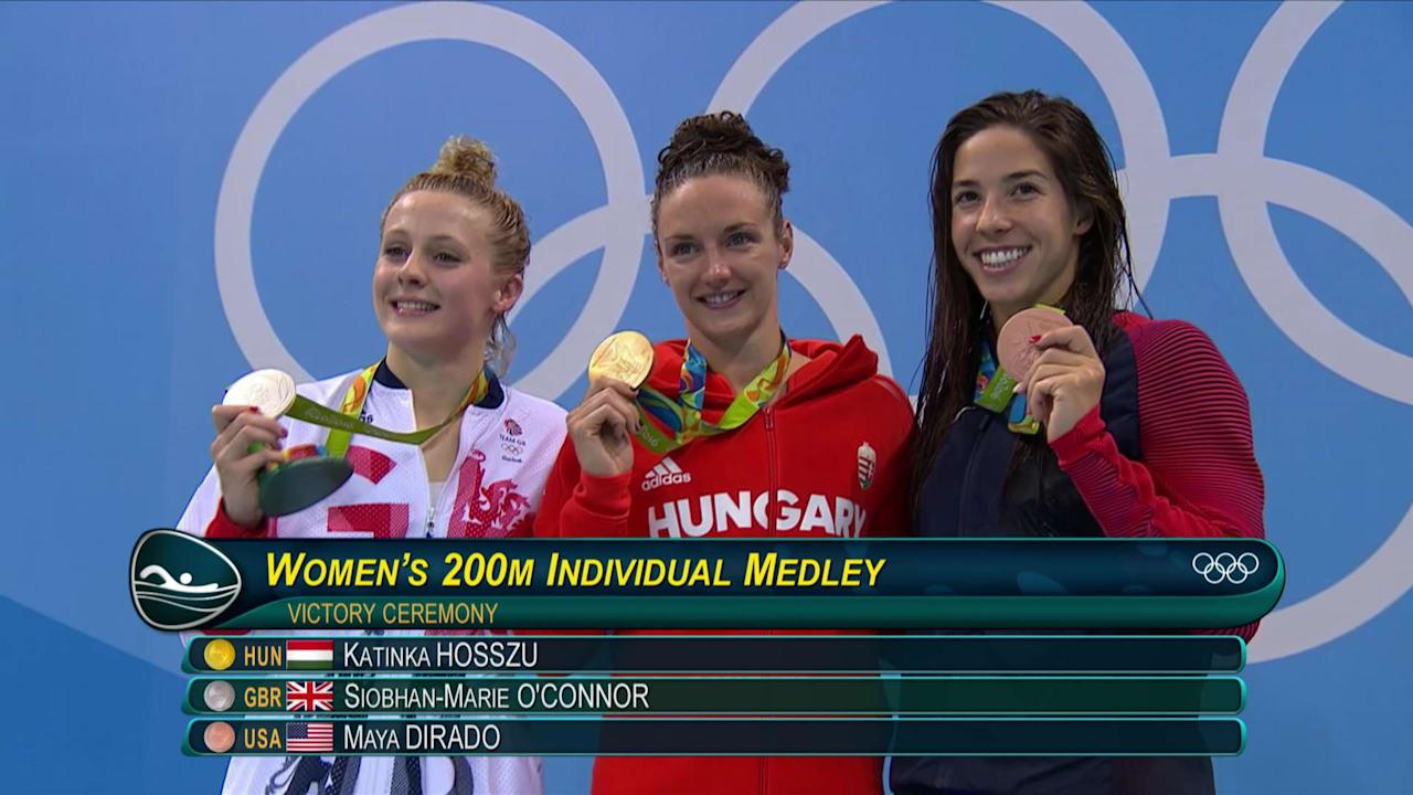 Hosszu grabs 200m IM gold