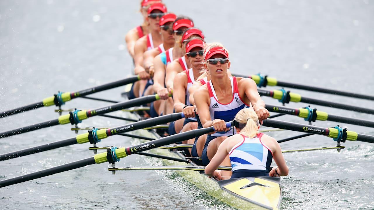 The beauty of Women's Rowing