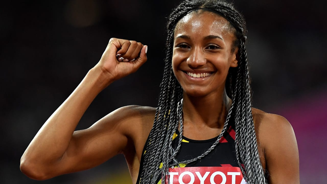 'Nobody's invincible'! But Nafi Thiam just looks it!