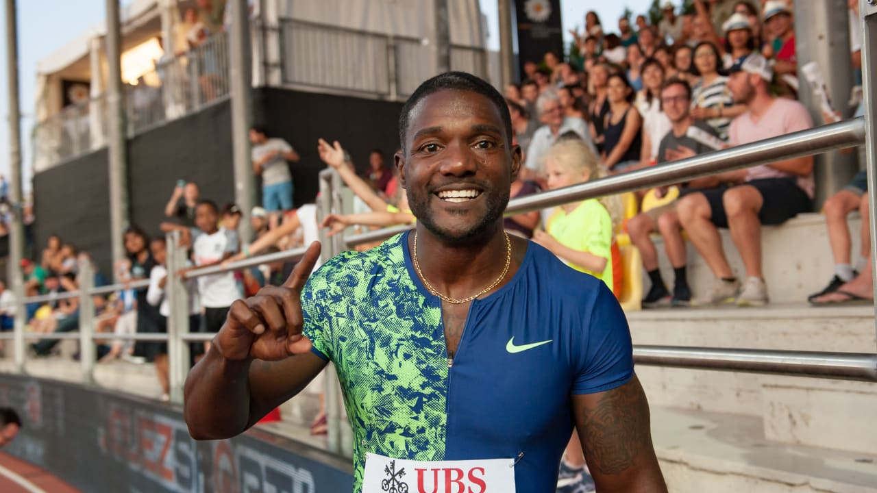 Justin Gatlin reveals the secret to his longevity