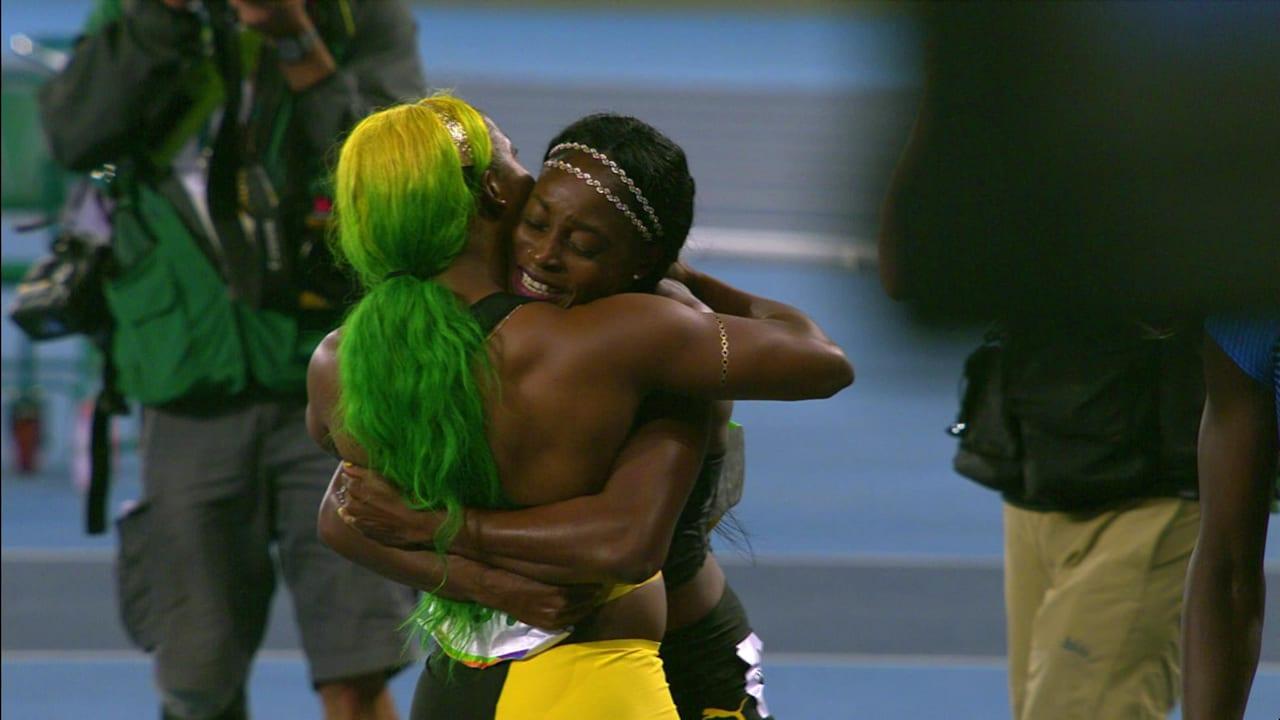 リオリプレイ:陸上競技女子100m決勝
