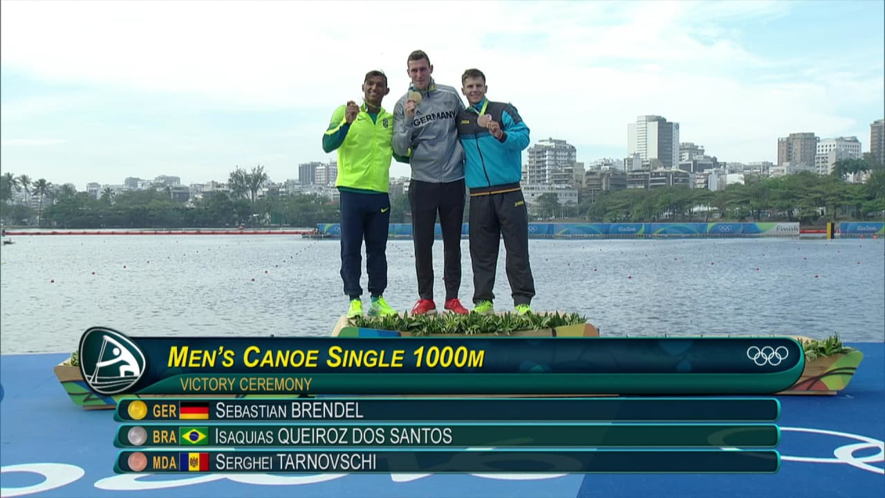 Brendel wins gold in Men's Canoe Sprint