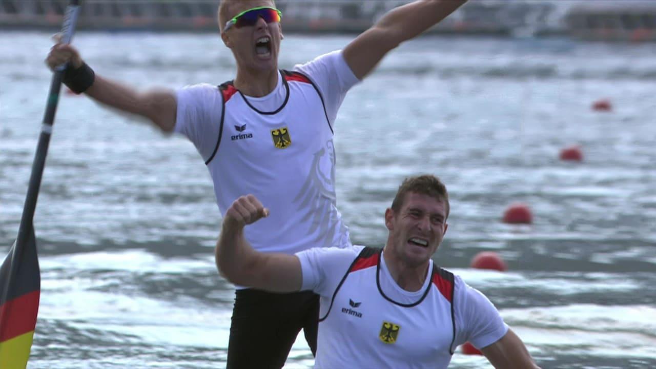 German pair win Men's Canoe Double 1,000m gold