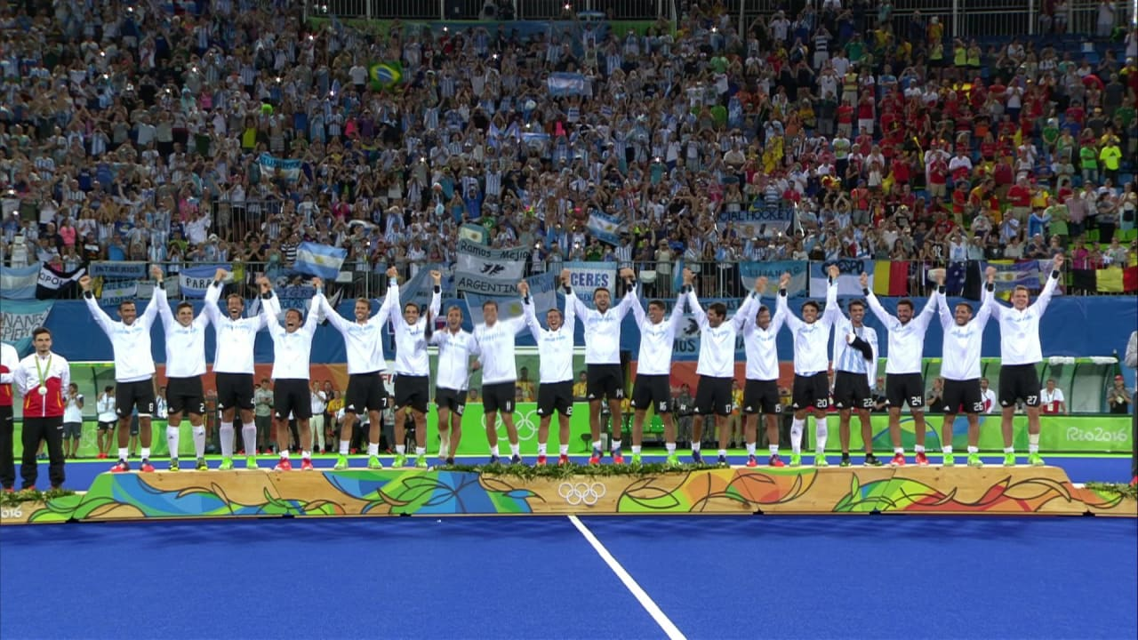 BEL v ARG, Men's Hockey Gold Match   Rio 2016 Replays