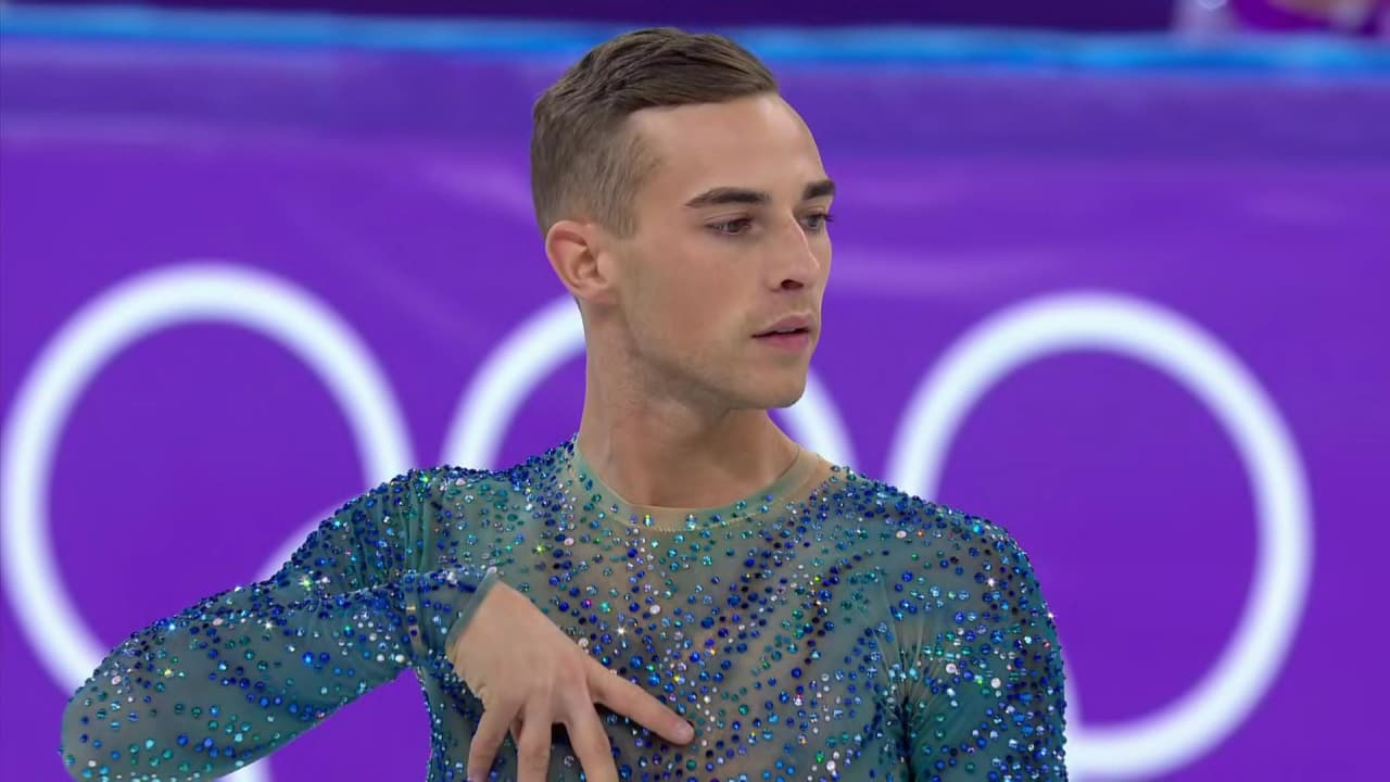 Adam Rippon dazzles with emotional Coldplay performance | Music Mondays