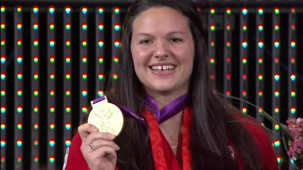 Relive the highlights of the special ceremony for Christine Girard