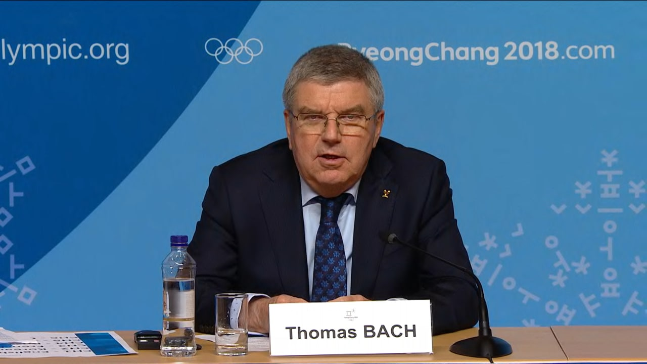 Bach: Joint march will be the moment of the Games