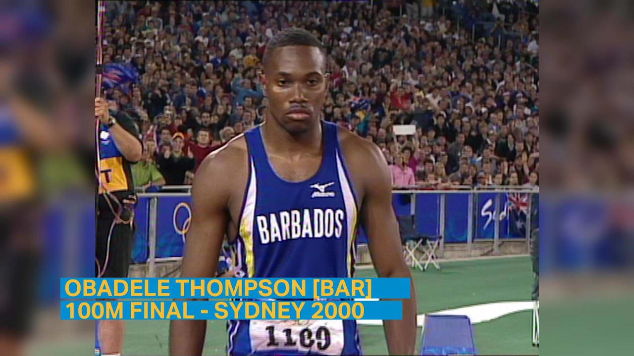 オバデレ・トンプソンがシドニー2000でバルバドスに初のメダルをもたらす