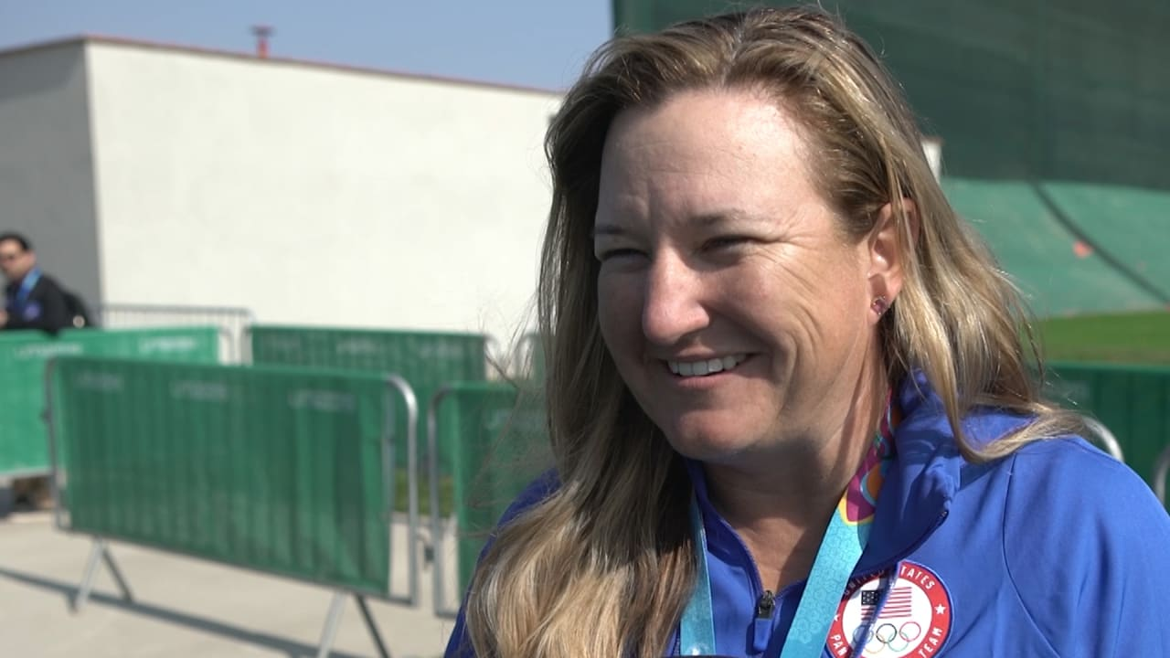 Kim Rhode looks to the future after winning Pan American Games gold