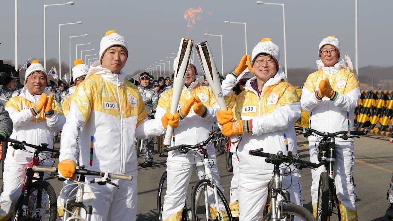 オリンピック聖火リレーが両輪で広げる平和のメッセージ!