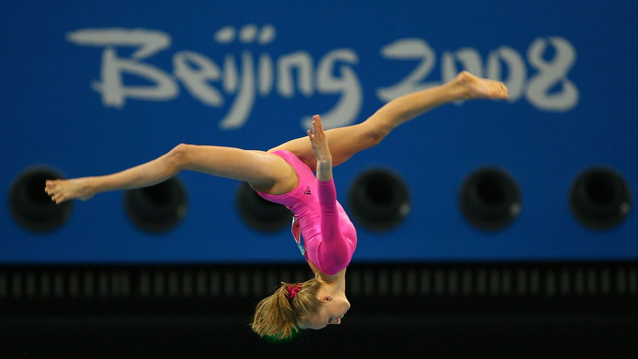 Nastia Liukin wins individual all-around gold | Beijing 2008 Replays
