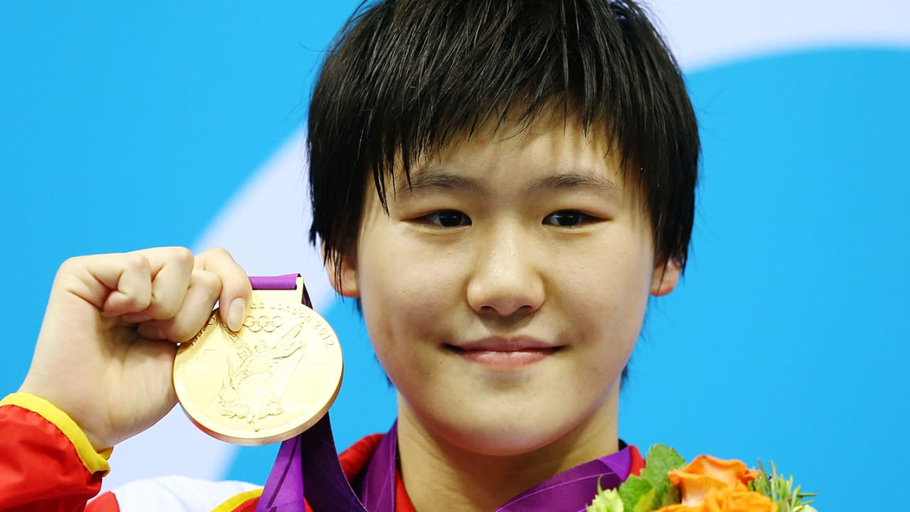 Shiwen breaks 400m IM world record | London 2012 Replays