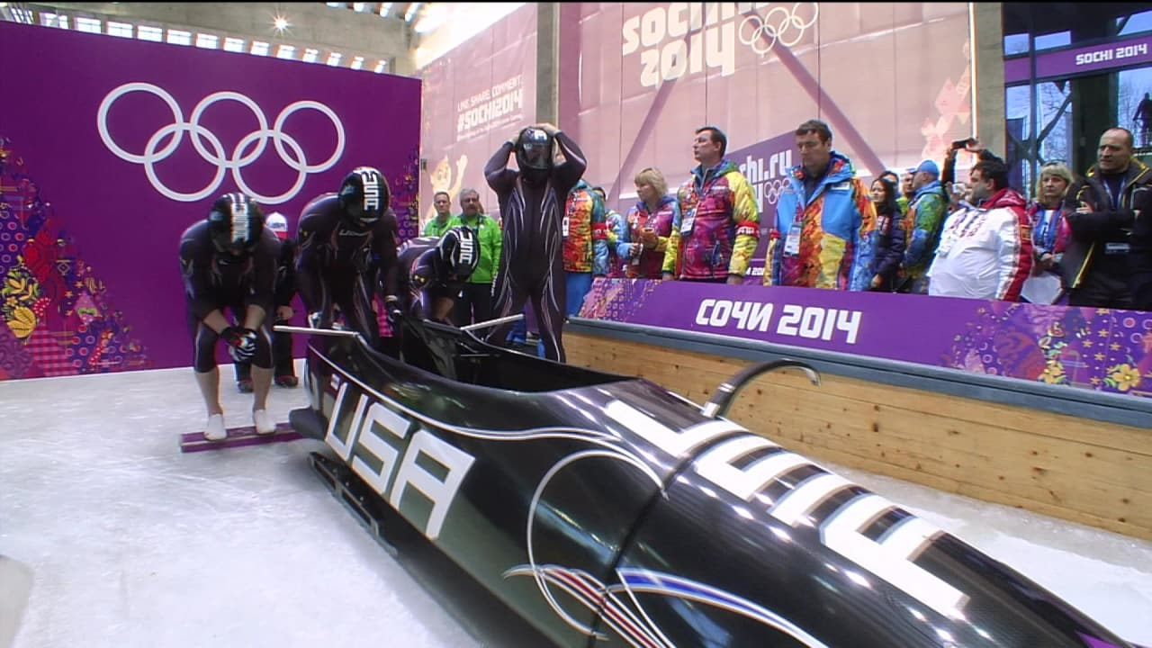Holcomb pilots USA four-man bobsleigh team to bronze medal | Sochi 2014