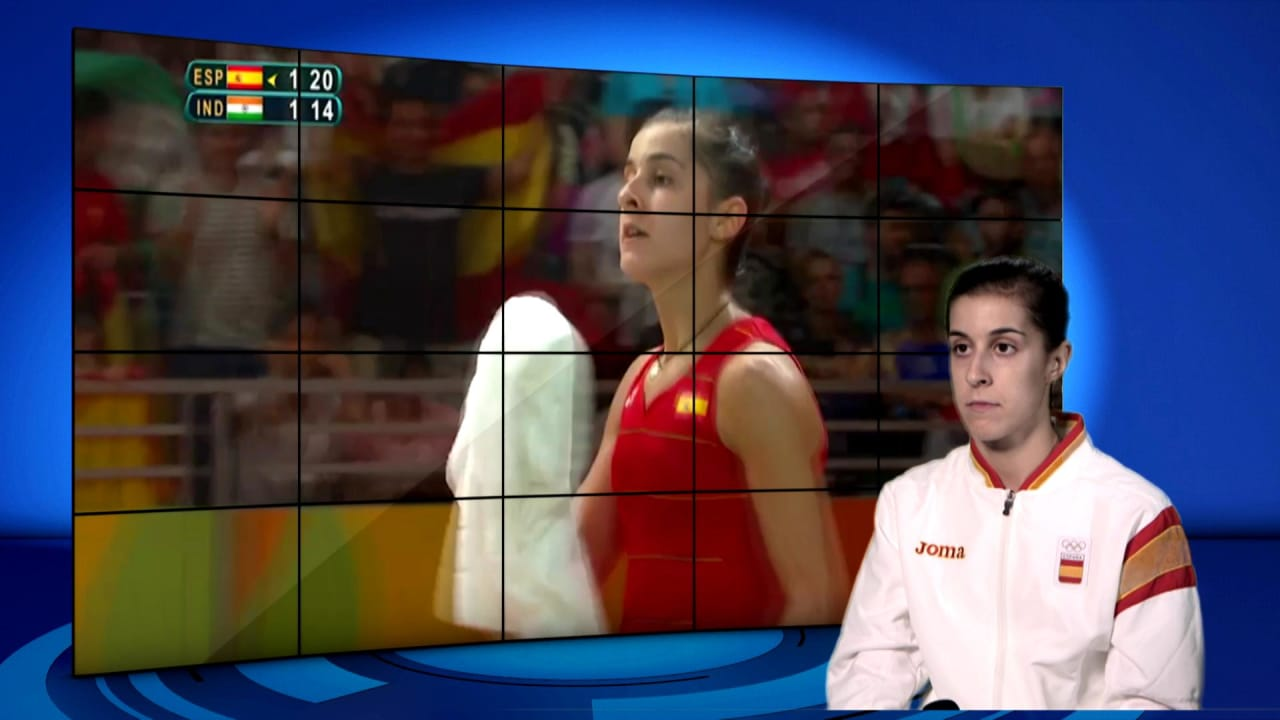 Carolina Marin | Rio 2016 | Take the Mic