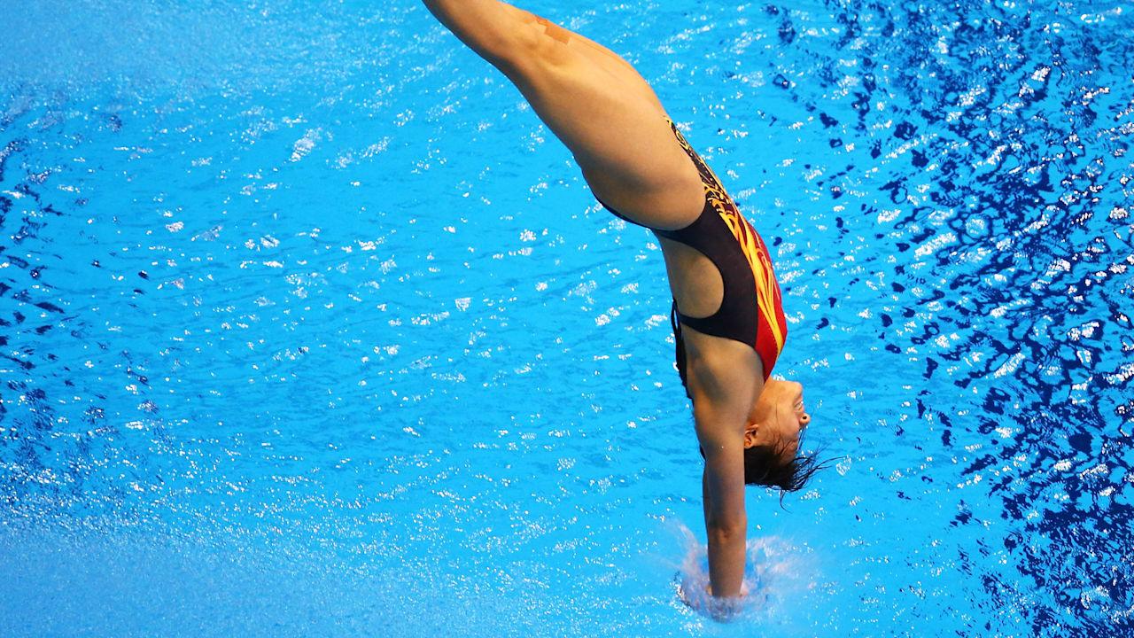 オリンピックでの飛込