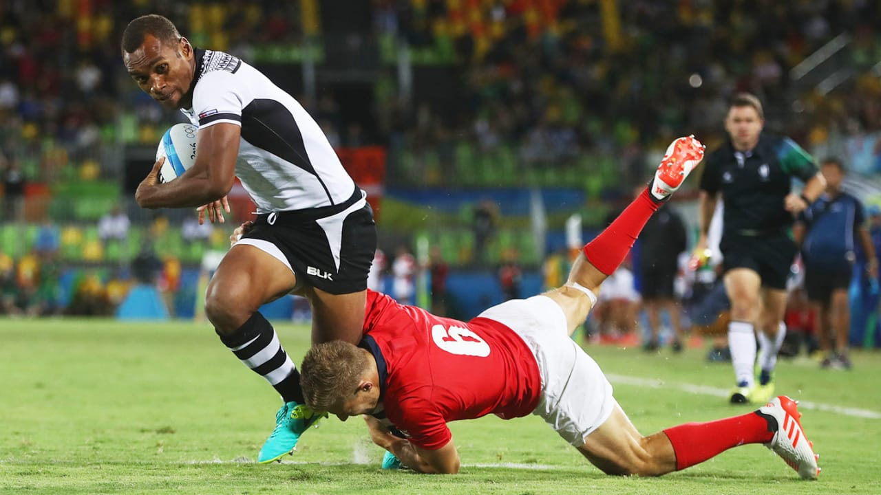 Rugby sevens team takes first ever gold for Fiji