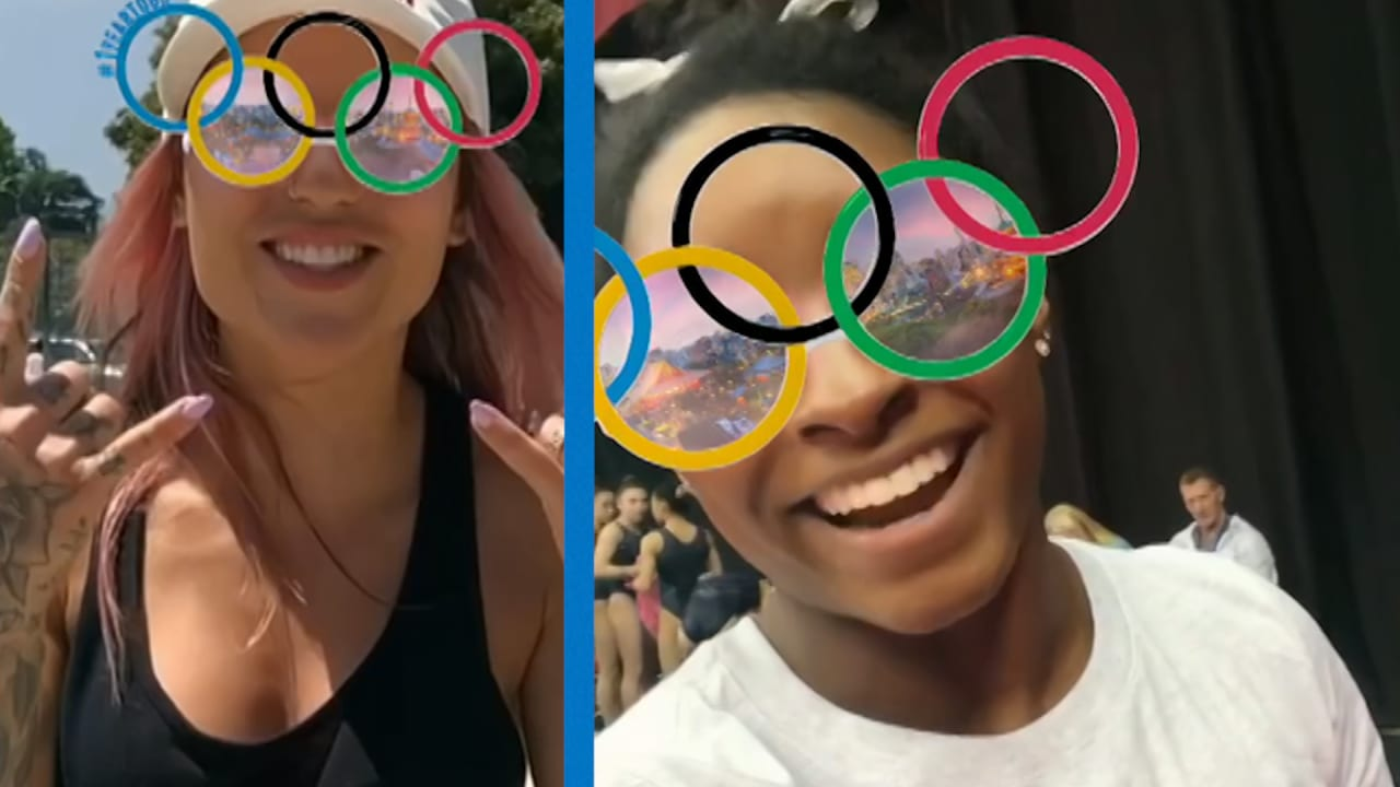 Get your glasses on! Olympic Rings Instagram filter launched to mark 1 year to Tokyo 2020