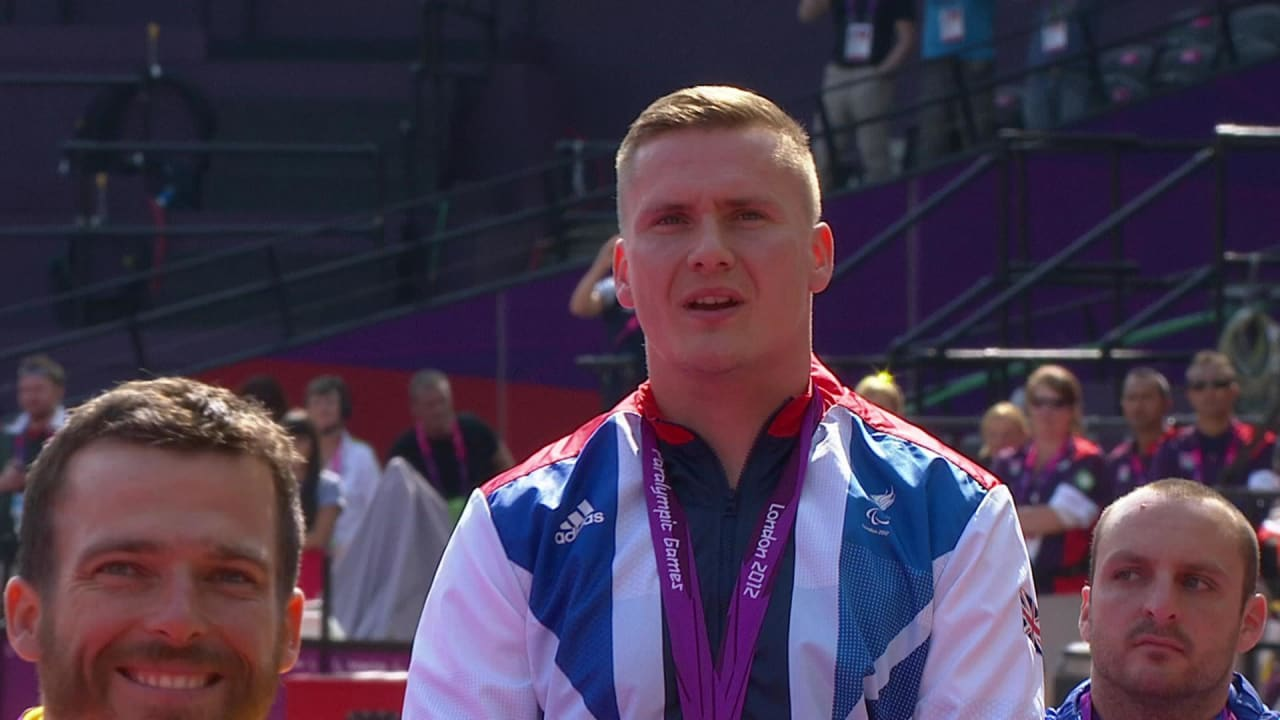 David Weir on singing the anthem at London 2012