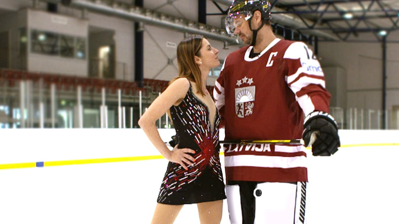 Sports Swap: Figure Skating vs Ice Hockey with Marchei & Vasiljevs