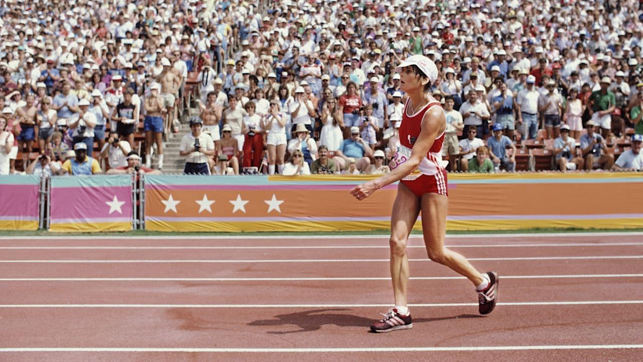 マラソン競技での限界越え