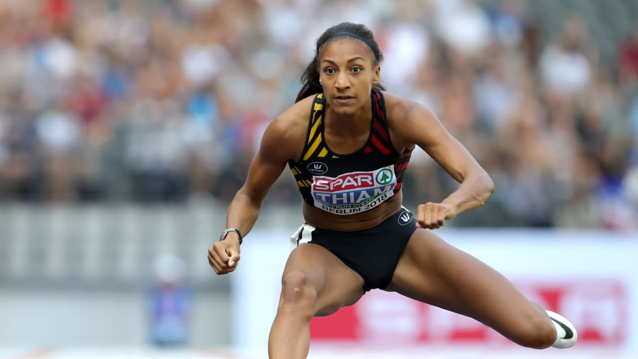 How does 'shy' heptathlon queen Thiam deal with fame?