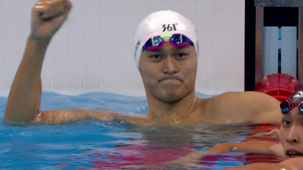 China's Sun wins Men's 200m Freestyle gold