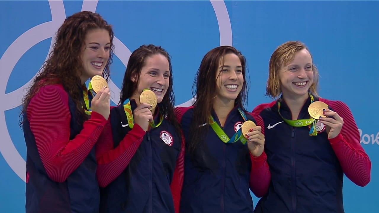 Women's 4x200m Freestyle Relay | Rio 2016 Replays