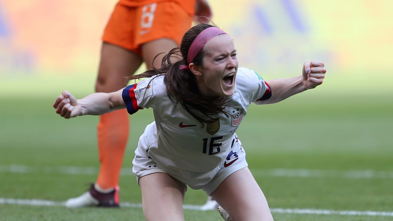 Rapinoe and Lavelle seal USWNT Women's World Cup triumph