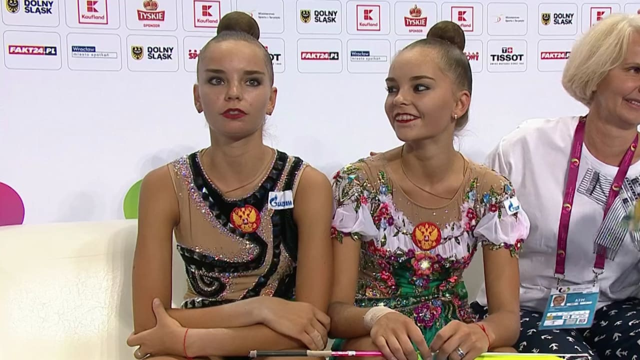 Russia's Averina twins sweep World Games golds in Wroclaw