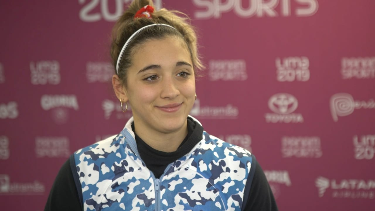 Delfina Pignatiello never stops thinking about the Olympics