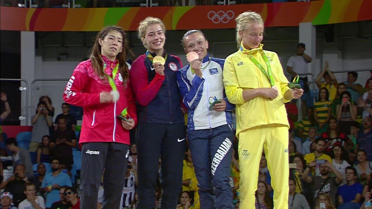 マルーリスがレスリング・フリースタイルで金メダル獲得
