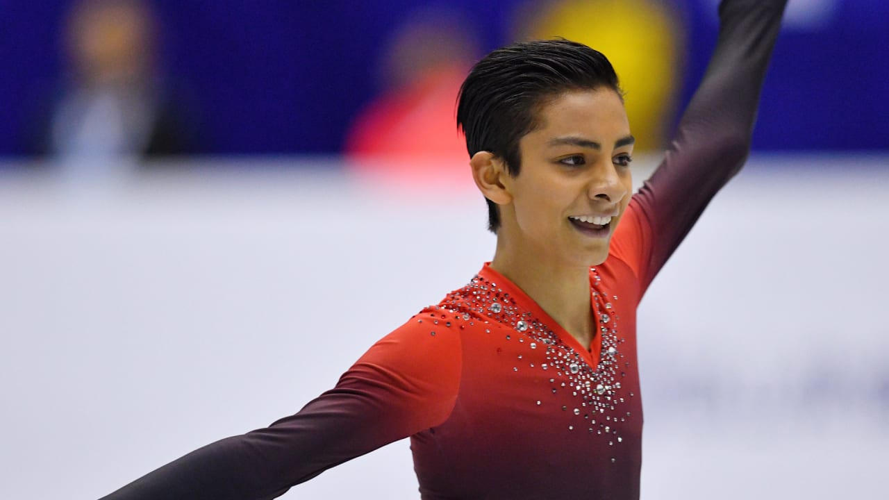 Meet Donovan Carrillo - The Mexican figure skater inspired by Javi Fernandez
