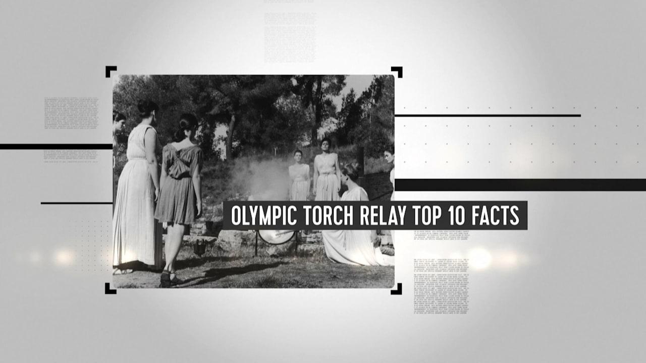 オリンピック聖火リレーにまつわる事実TOP 10
