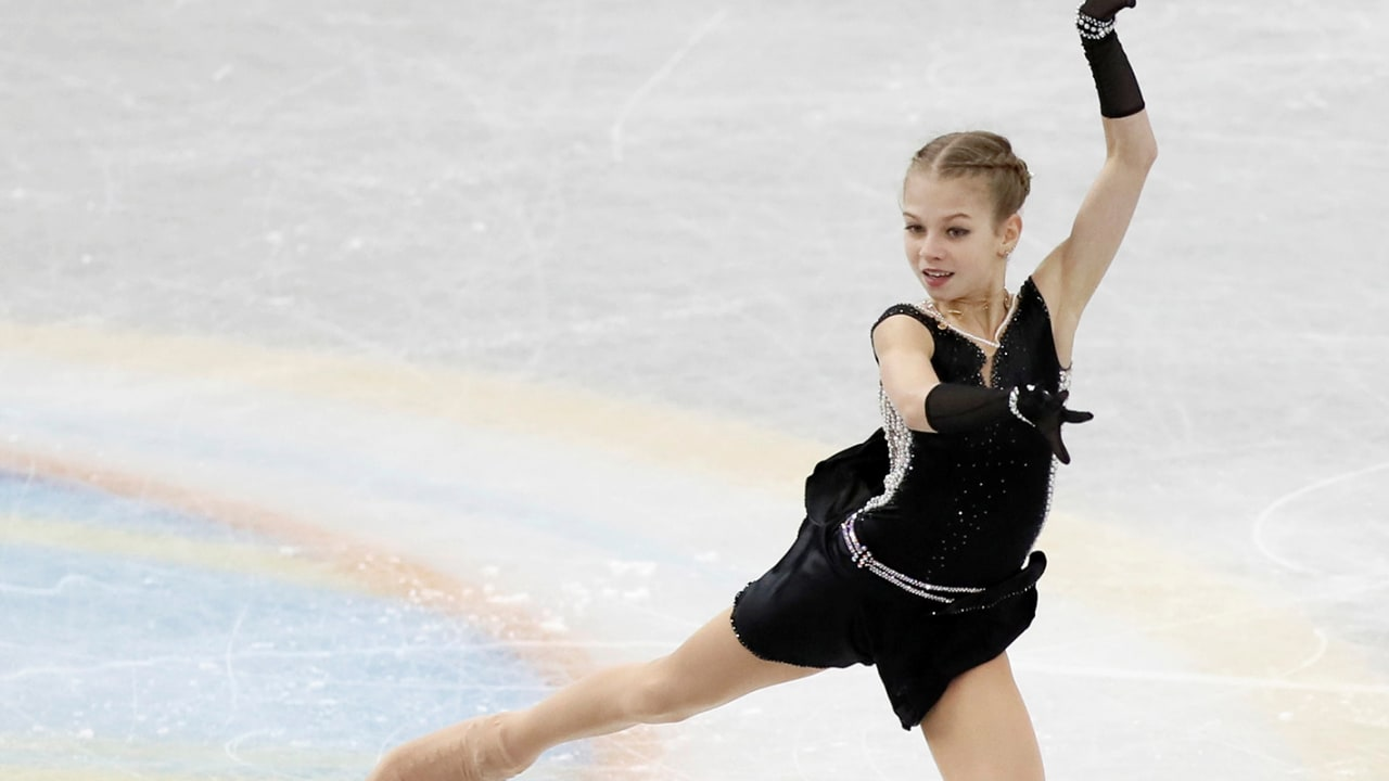 Exclusive! Figure skating prodigy Alexandra Trusova: