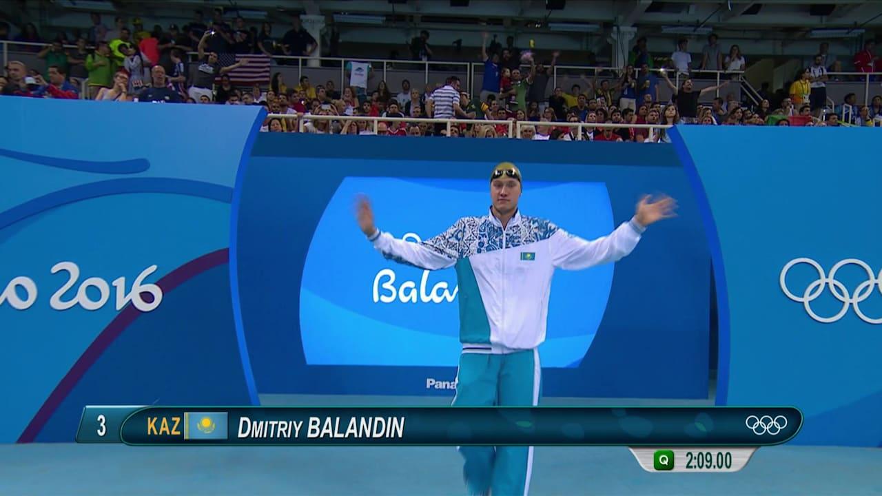 バランディンがカザフスタンに競泳初のメダルをもたらす