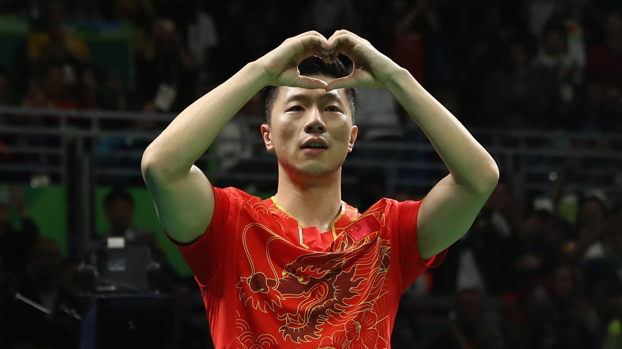Ma takes Table Tennis gold for China