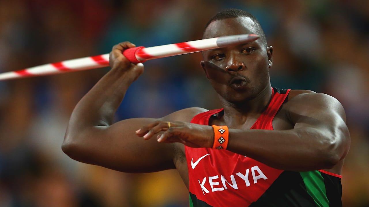 Julius Yego says the javelin is