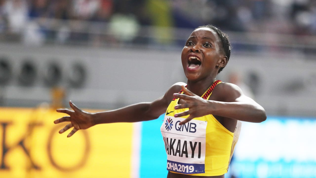 Halimah Nakaayi's incredible journey to the world 800m title